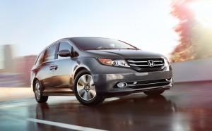 Lease a 2014 Honda Odyssey in Everett