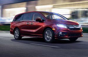 2018 Honda Odyssey near Seattle