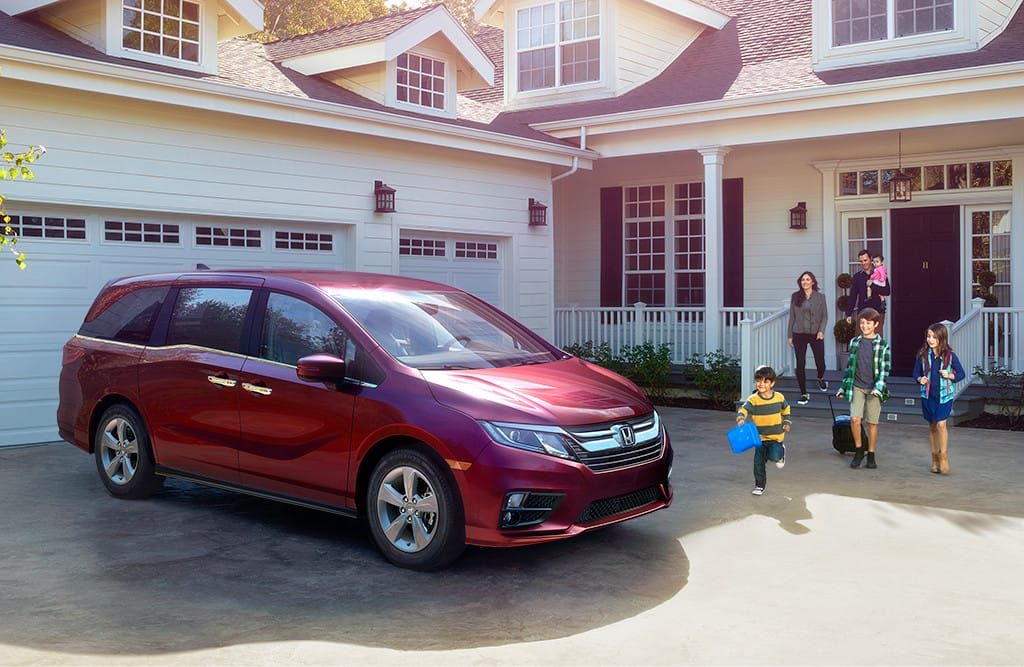 2019 Honda Odyssey Available near Seattle